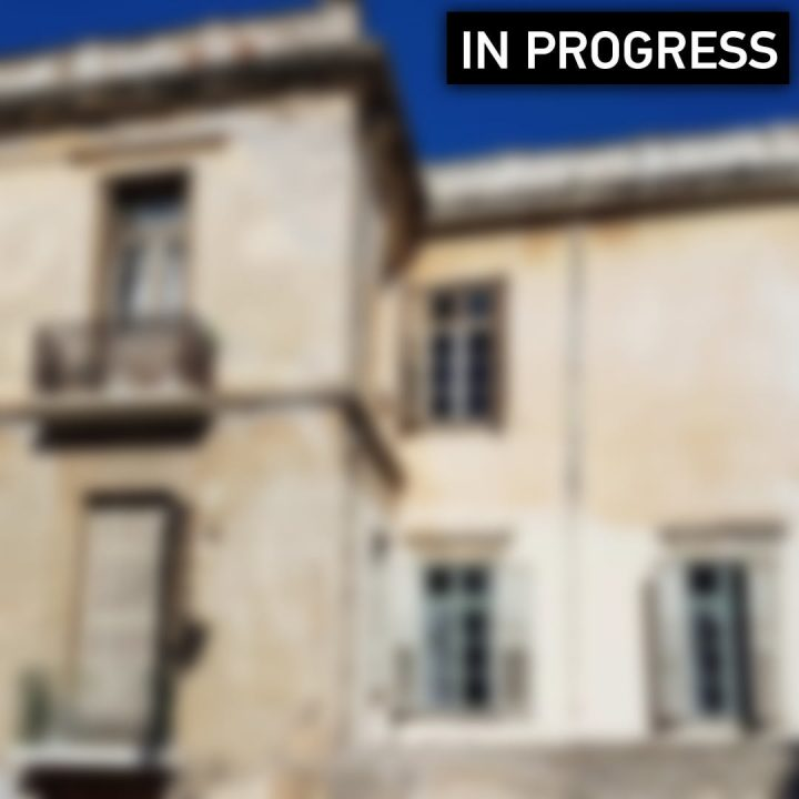 Διατηρητέο κτίριο υπο κατασκευή